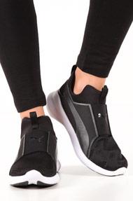 Puma - Rebel Sneaker mid - Black