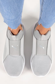 Puma - Rebel Sneaker mid - Light Grey