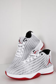 Jordan - B. Fly Sneaker low - White + Red + Black