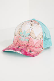 adidas Originals - Trucker / Snapback Cap - Mint + Multicolor