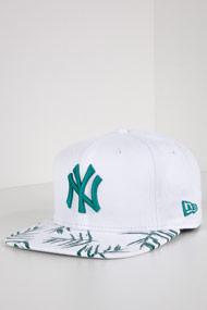 New Era - 9Fifty Cap / Snapback - White + Green