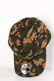 New Era - 9Forty Cap / Strapback - Olive Green + Camouflage