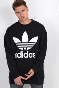 adidas Originals - Sweatshirt ample - Black + White