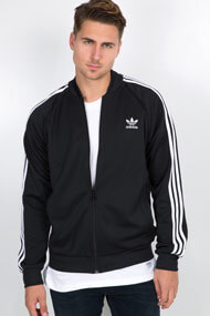 adidas Originals - Trainingsoberteil - Black + White