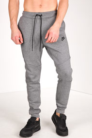 Nike - Pantalon de jogging - Heather Dark Grey + Black
