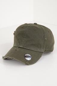 KB Ethos - Strapback Cap - Olive Green