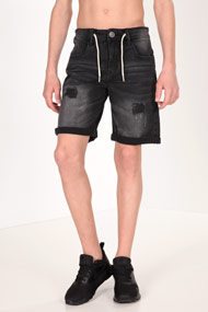 Tom Tailor - Short en jean - Black Used