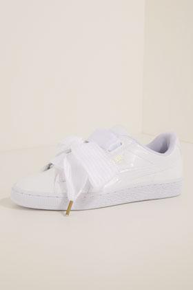 puma sneaker low white
