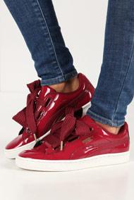 Puma - Heart Sneaker low - Bordeaux