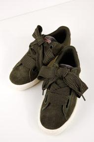 Puma - Heart Sneaker low - Olive Green