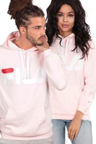 Fila - Kapuzensweatshirt - Rose + White + Red
