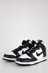 Nike - Dunk sneakers hautes - Black + White