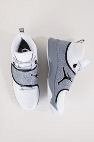 Jordan - Super.fly 5 Basketballschuhe - White + Grey + Black