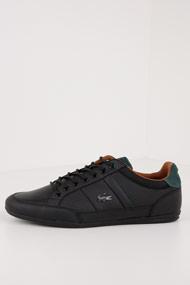Lacoste - Chaymon Sneaker low - Black + Olive Green