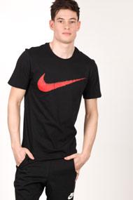Nike - T-Shirt - Black + Red