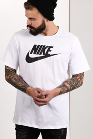 Nike - T-Shirt - White + Black