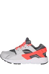 Nike - Air Huarache Laufschuhe - Light Grey + Coral
