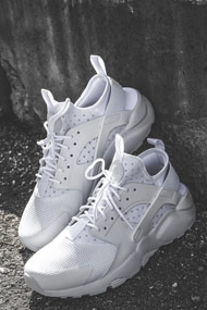 Nike - Air Huarache chaussures de course - White