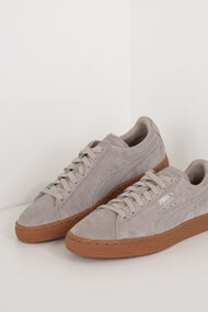 Puma - Suede sneakers basses - Taupe