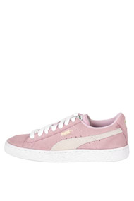 Puma - Suede sneakers basses - Rose + Offwhite