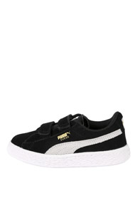 Puma - Suede sneakers basses - Black + Offwhite