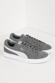Puma - Suede sneakers basses - Grey + White