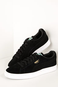 Puma - Suede Sneaker low - Black