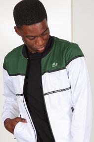 Lacoste - Leichte Jacke - White + Green + Black