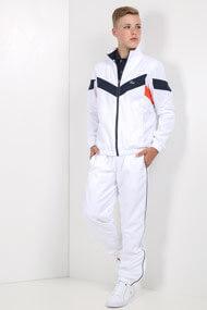 Lacoste - Trainingsanzug - White + Navy Blue + Red
