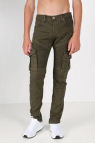 Denim Lab - Jean slim fit - Olive Green