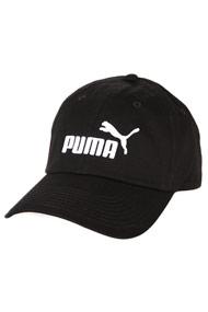 Puma - Scratchback Cap - Black + White