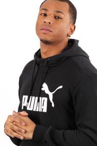 Puma - Sweatshirt à capuchon - Black + White
