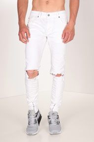 Project X - Slim Fit Jeans - White