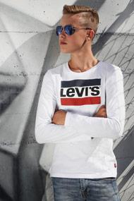 Levi's - Langarmshirt - White