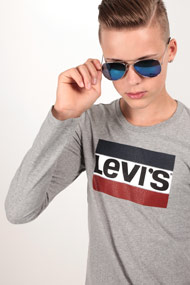 Levi's - Langarmshirt - Heather Light Grey