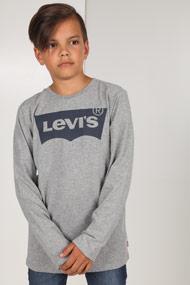 Levi's - Langarmshirt - Heather Grey + Blue