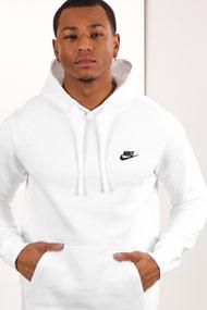 Nike - Sweatshirt à capuchon - White