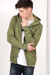 Nike - Trainingsjacke mit Kapuze - Olive Green