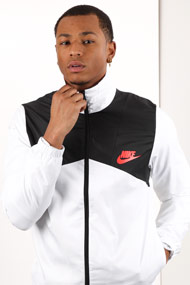 Nike - Veste coupe-vent - White + Black