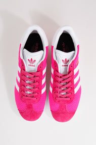 adidas Originals - Gazelle Sneaker low - Pink + White
