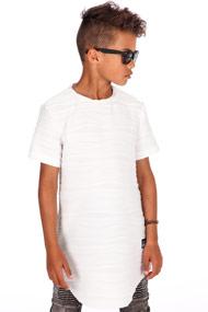 45 RPM - T-Shirt long - White