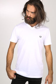 Fred Perry - T-Shirt - White