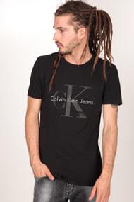 Calvin Klein - T-Shirt - Black + Grey