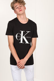 Calvin Klein - T-Shirt - Black + White + Grey