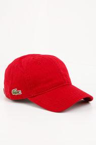 Lacoste - Strapback Cap - Red
