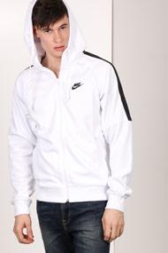 Nike - Trainingsjacke - White + Black