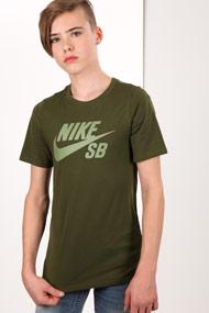 Nike - T-Shirt - Olive Green