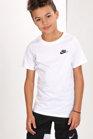 Nike - T-Shirt - White + Black