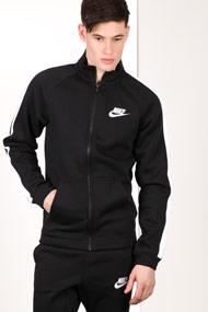 Nike - Sweatjacke - Black + White