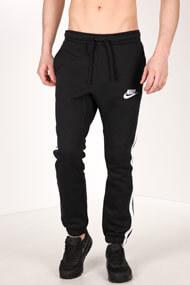 Nike - Trainingshose - Black + White